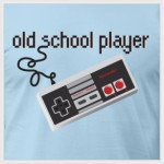 Old School Player T-shirt Design by Funky T-Shack